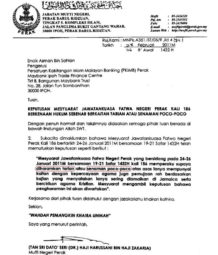 Contoh Surat Rasmi Kepada Jabatan Imigresen Arasmi