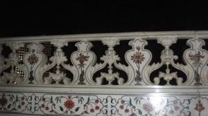 Dinding makam Shah jehan